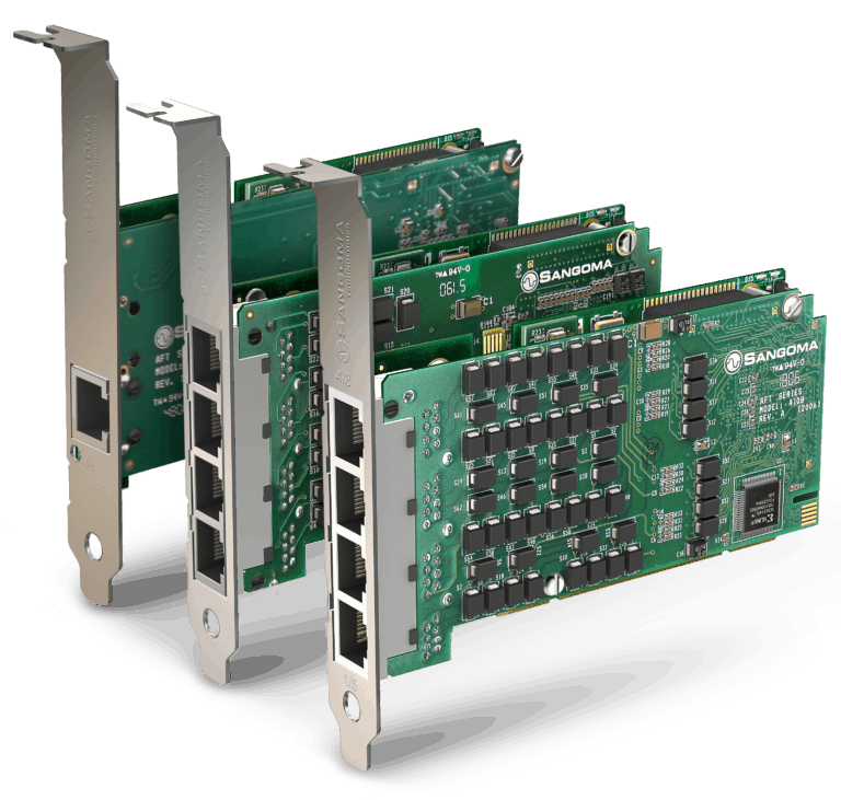 Sangoma A-Series Digital SDWAN Cards