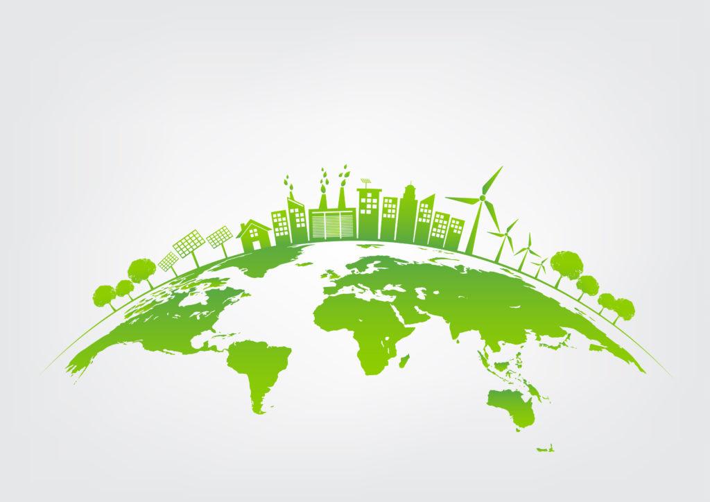Green Earth Rendering