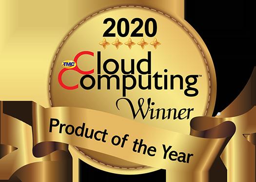 2020 Cloud Computing Magazine Product of the Year Award