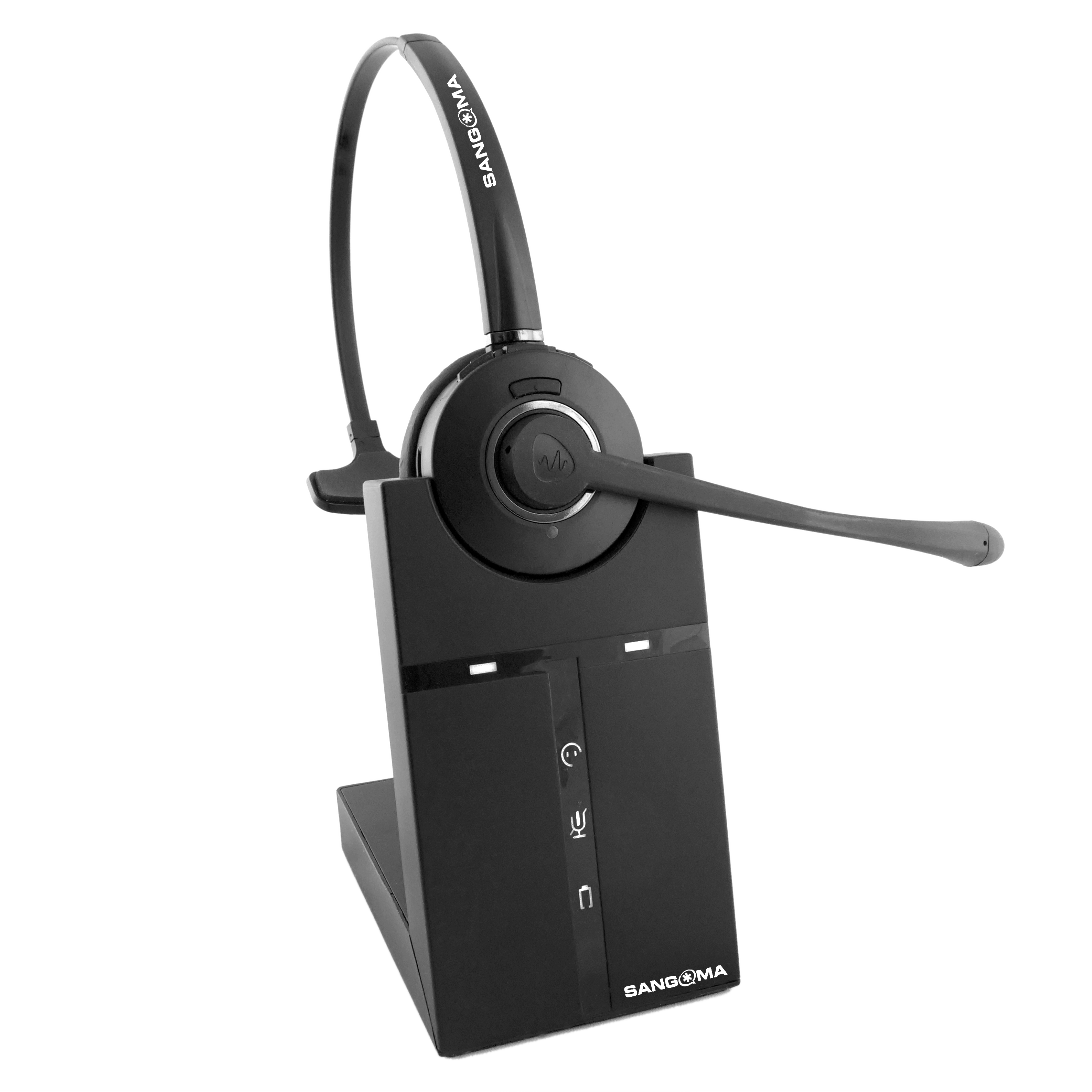 H10 Wireless Headset on Cradle