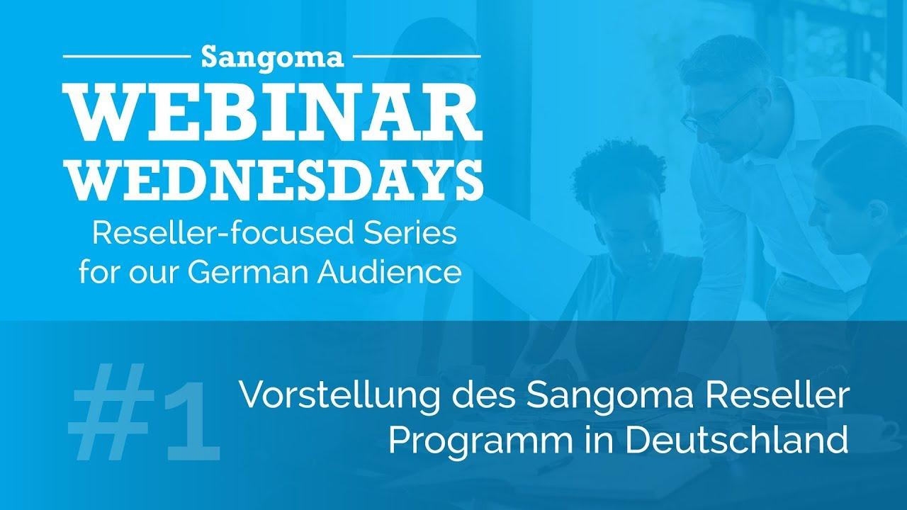 Reseller-focused Series for our German Audience