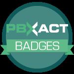 PBXact Badges