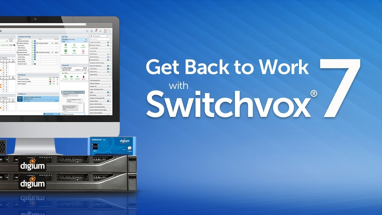 Get Back to Work with Switchvox 7
