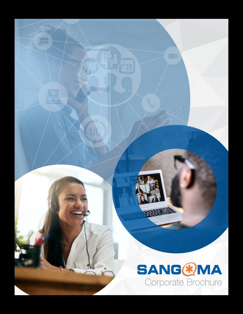 Sangoma Corporate Brochure