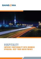 Hospitality - IMPROVE FUNCTIONALITY WITH MINIMUM UPHEAVAL: KEEP YOUR ROOM PHONES