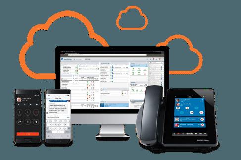 Sangoma Cloud Offerings - Mobile, Desktop, PC and Desktop IP Phone